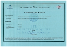 MAIL SERVICES AUTHORIZATION CERTIFICATE